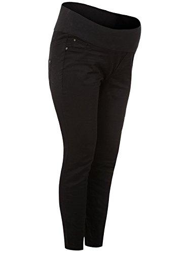 8e615c2a8ab14 Ex New Look Maternity Black Skinny Pregnancy Under Bump Jeans ...