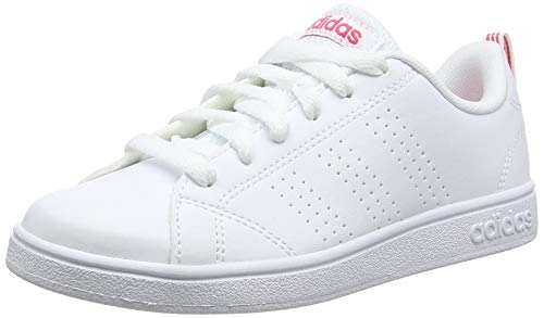 adidas Vs Advantage Cl K, Scape per Sport Outdoor Unisex-Bambini, Bianco Ftwwht/Suppnk, 36 EU