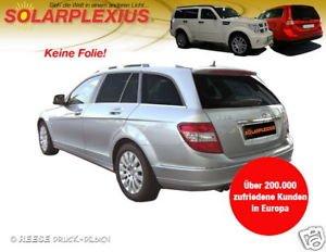 Autosonnenschutz Scheibentöung C Klasse Kombi S 204 ab Bj.2008 Art.25489-7
