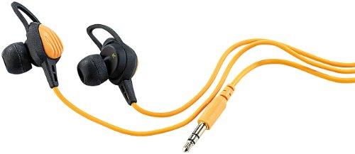 auvisio Kopfhörer wasserdicht: Wasserdichte Sport-Ohrhörer mit Komfort-Haltebügeln (Wasserfeste Kopfhörer)