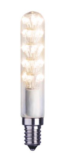 Best Season 359-11 Decoline Ersatzglühbirne LED, E14, 2100 K, klar, stabform, 230V