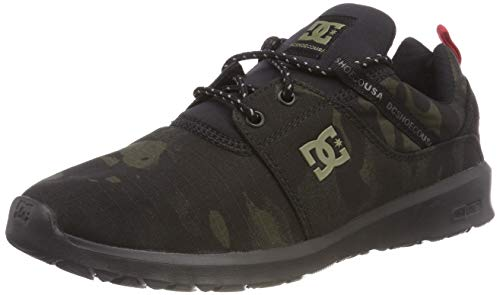 db1592021ed31b DC Shoes Herren Heathrow TX SE Skateboardschuhe Schwarz (Camo Black Kco) 45  EU