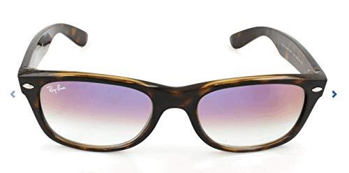 Ray-Ban Unisex-Erwachsene 0RB2132 710/S5 52 Sonnenbrille, Havana/Cleargradientviolet,