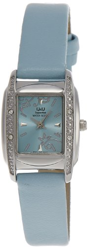 Q & Q Analog Blue Dial Women's Watch - S041-312Y image