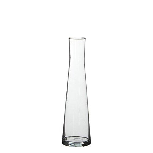 MICA Decorations Ixia–Jarrón, vidrio, transparente, d: 8 x H: 3