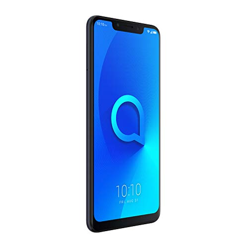 Alcatel 5060D-2AALWE2 5V Smartphone, 32 GB Spectrum Schwarz