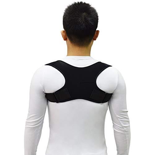 Noradtjcca Oberer Rücken Körperhaltung Korrektor Haltung Schlüsselbein Unterstützung Korrektor Rückseite Gerade Schultern Brace Strap Correctpor - Haltung Unterstützung Korrektor