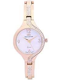 Gio Collection Analogue White Dial Women's Watch
