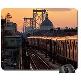 subway-coming-off-the-williamsburgh-bridge-nyc-mouse-pad-mousepad-bridges-mouse-pad