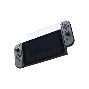 Digit.Tail Premium Schutzhülle Folie [Anti-Glare 9H-Hardness 0.3mm] Panzerglas Schutzfolie Zubehör für Nintendo Switch