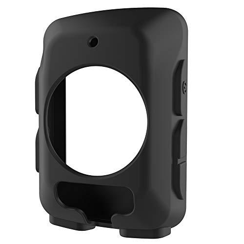 xiton code table funda protectora para bicicleta reloj de silicona funda de mesa para garmin edge 520 (negro)