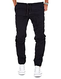MERISH Jogging Chino Herren Baggy Pants Hose Modell J2054