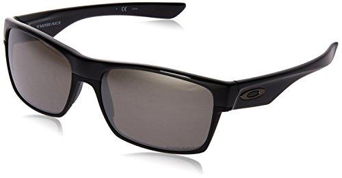 Oakley Herren Twoface 918937 Sonnenbrille, Blau (Polished Black), 60