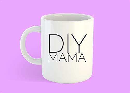 DIY Mama Tasse, DIY Geschenk, DIY Queen, lustiges Geschenk für Mutter, lustiges Geschenk für Freunde, Do It Yourself - 325 ml Kaffeetassen - 425 g