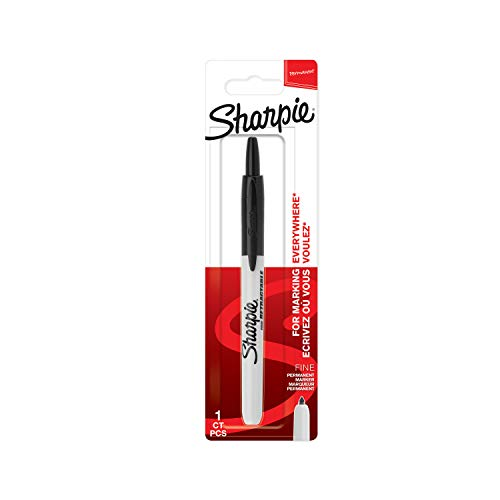 Sharpie rotulador permanente retráctil