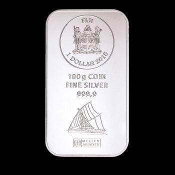 SILBERBARREN 100 Gramm / 100g Heraeus / Umicore MOTIV SILBER Barren Feinsilber 999 er --- Das wertbeständige Geschenk für die lebenslange Erinnerung an freudige Ereignis - Silber Barren Münzen