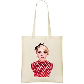 AnnaSophia Robb Portrait Custom Printed Shopping Grocery Tote Bag 100% Soft Cotton Eco-Friendly & Stylish Handbag For Everyday Use Custom Shoulder Bags