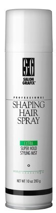 Salon Grafix Shaping Hair Spray, Extra Super Hold Mist-10- 10 oz (Pack of 5) by Salon (Shaping Spray Hold)