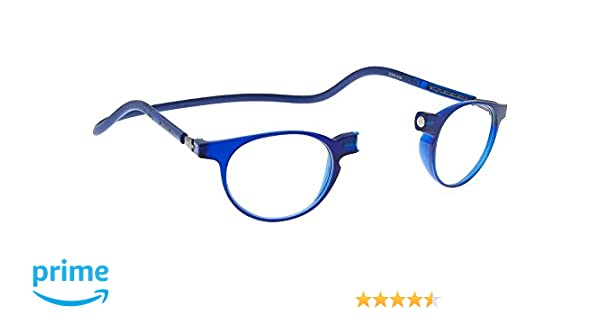 153c834f7c9c New Slastik Magnetic Clic Style Reading Glasses Frames Soho 010 With Soft  Case Power +1.5  Amazon.co.uk  Health   Personal Care