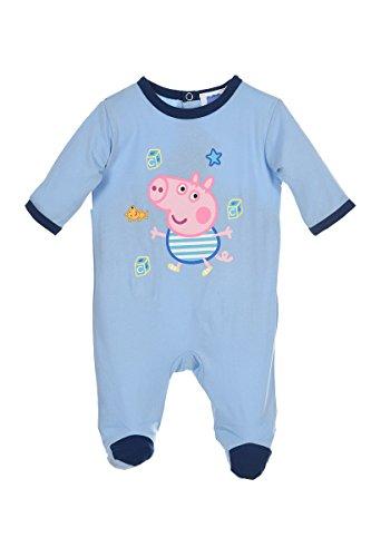 Kinder Kleinkinder Peppa Pig Alles in einem Pyjama Overall Strampler Offizielle Waren