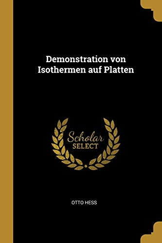 Demonstration Von Isothermen Auf Platten