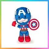 Peluche Marvel Captain américa 20 cm