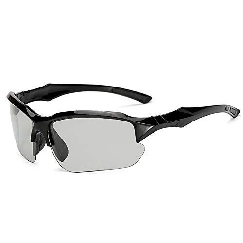ZKAMUYLC SonnenbrilleFarbwechsel Polarisierte Radfahren Brillen Fahrrad Brillen Sport Sonnenbrillen MTB Fahrrad Brille Für Reiten Angeln