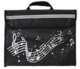 Musicwear: Sacoche De Musique Portée Onduleuse (Noire) Accessoire