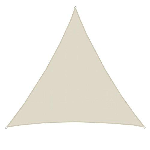 AMANKA UPF50+ XXL Sonnensegel 5x5x5m Polyester Dreieck Wasserabweisend UV-Schutz Garten-Segel für...