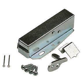 LOFT DOOR TOUCH CATCH Hatch Push - Attic/Cupboard Latch c/w