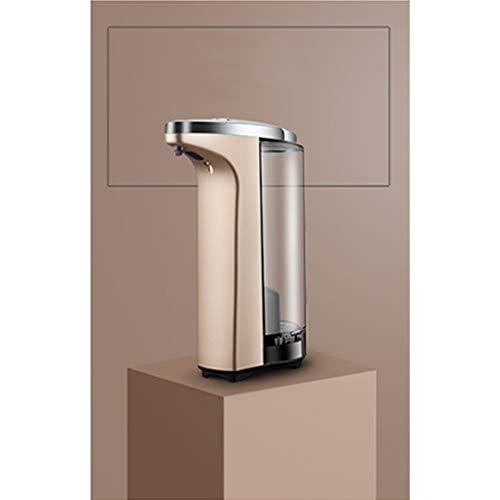 ZPWSNH Hotel-Haushaltsbadezimmer An Der Wand Montierter Automatischer Sensorspender, Seifenspender, Händedesinfektionsmittel Seifenspender (Color : Gold) -