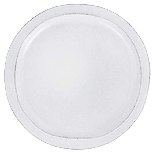 Ib Laursen Grey Dunes Assiette à Manger en céramique 28 x 3 cm