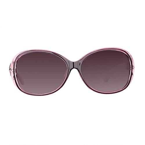 RMXMY Großzügiges Gesicht rundes Gesicht weibliche Modelle Sonnenbrille Polarisator große Box Sonnenbrille Star mit der Brille Mode wild