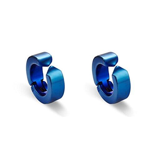 Orecchini magnetici/ Orecchini falsi uomini/Corea titanio acciaio clip orecchio/ non-trafitto orecchio gioielli/ gioielli uomo-D