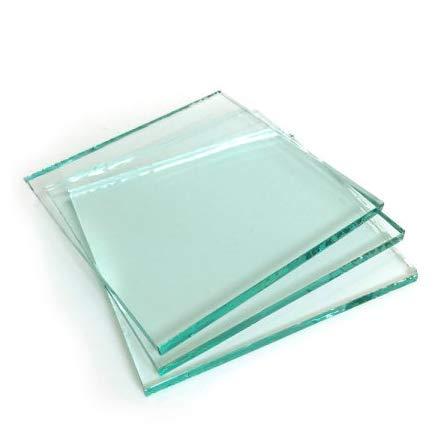 generisch Floatglas I Glasplatte Nach Maß I Normalglas Für Bilderrahmen, Möbel & Dekorationszwecke I Bis Zu 0,4 qm I 3 mm Dick