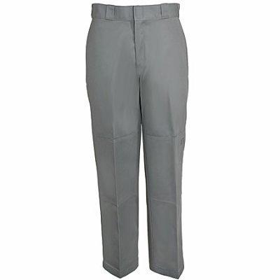 Dickies Clothing: Men's Double Knee Work Pants 85283SV - Grey - 38x30 -