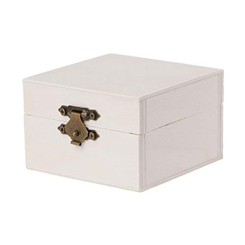 Storage Boxes Bins - 2019 Wooden Square Jewelry Stage Box Wood Base Crafts Case Art Kids Diy Toys - Organizers Storage Bins Boxes Storage Boxes Bins Jewelry Wood Wooden Snake Cable Case Craft He Technics Home Audio