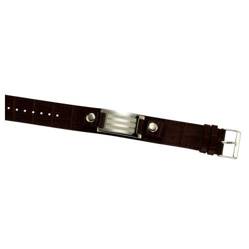 kisma-bijoux-bracelet-en-acier-inoxydable-bracelet-en-acier-pour-kia-0130-014-19-marron