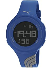 Puma  PU911091009 - Reloj de 0 unisex, con correa de plástico, color gris