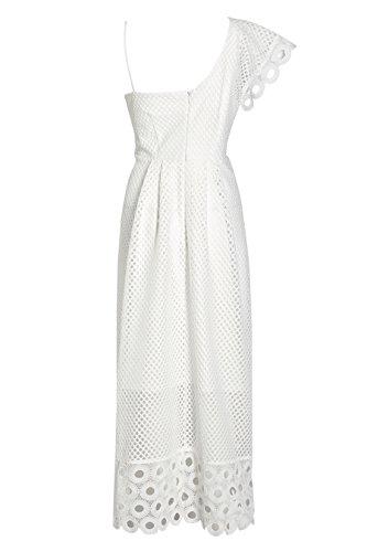 next Robe asymétrique en dentelle Standard Femme Blanc