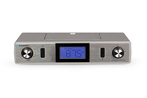 Blaupunkt KR 10 WH Küchen-Unterbauradio mit UKW/FM PLL, Backtimer, 25 Senderspeicher und Stereolautsprecher, LCD Display, Montagematerial inklusive