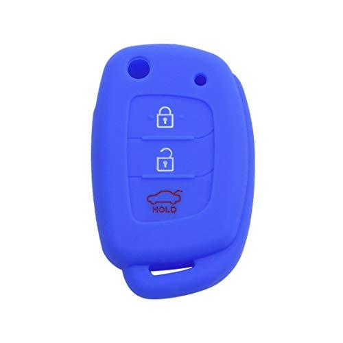 sourcing map 3 Taste Auto Keyless Eintrag Remote Schlüssel Hülle Halter Schale Königsblau (Remote-auto-eintrag)