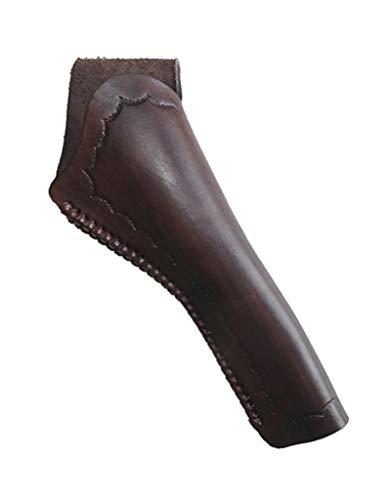 Westernholster Holstertasche Oldstyle rechts oder Links braun für Navy Colt, Armee Colt Echtleder Oldstyle Handarbeit (Rechtshänder) -
