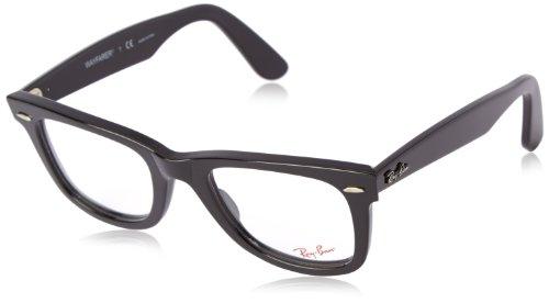 Ray-Ban Unisex-Erwachsene 5121 Brillengestelle, Schwarz (Negro), 50