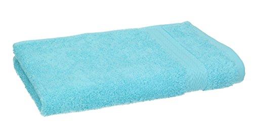 BETZ Serviette d'invité 100% Coton Taille 30x50 cm pour Visage Mains Serviette d'invité Premium Couleur Turquoise