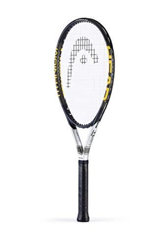 Head TiS1 Pro Raqueta de Tenis, Unisex Adulto, Negro/Plata, 4
