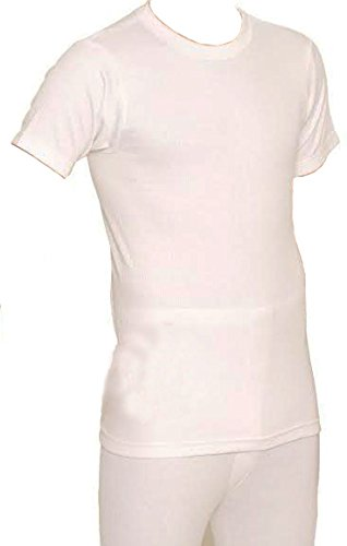 RP Collections® British Made Bargain Mens Thermal Short Sleeve T-Shirt Vest Top
