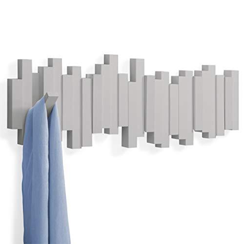 Gancio decorativo creativo del gancio della parete del portico della porta del gancio del gancio del gancio del gancio della porta della parete del gancio creativo ( color : gray )