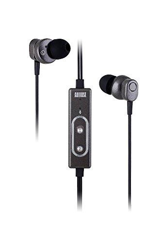 august-ep715-auriculares-in-ear-con-cancelacion-de-ruido-activa-cascos-con-kit-manos-libres-y-microf