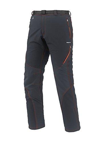 Trango Arkan Antracita-Pantaloni da uomo, taglia: Nero